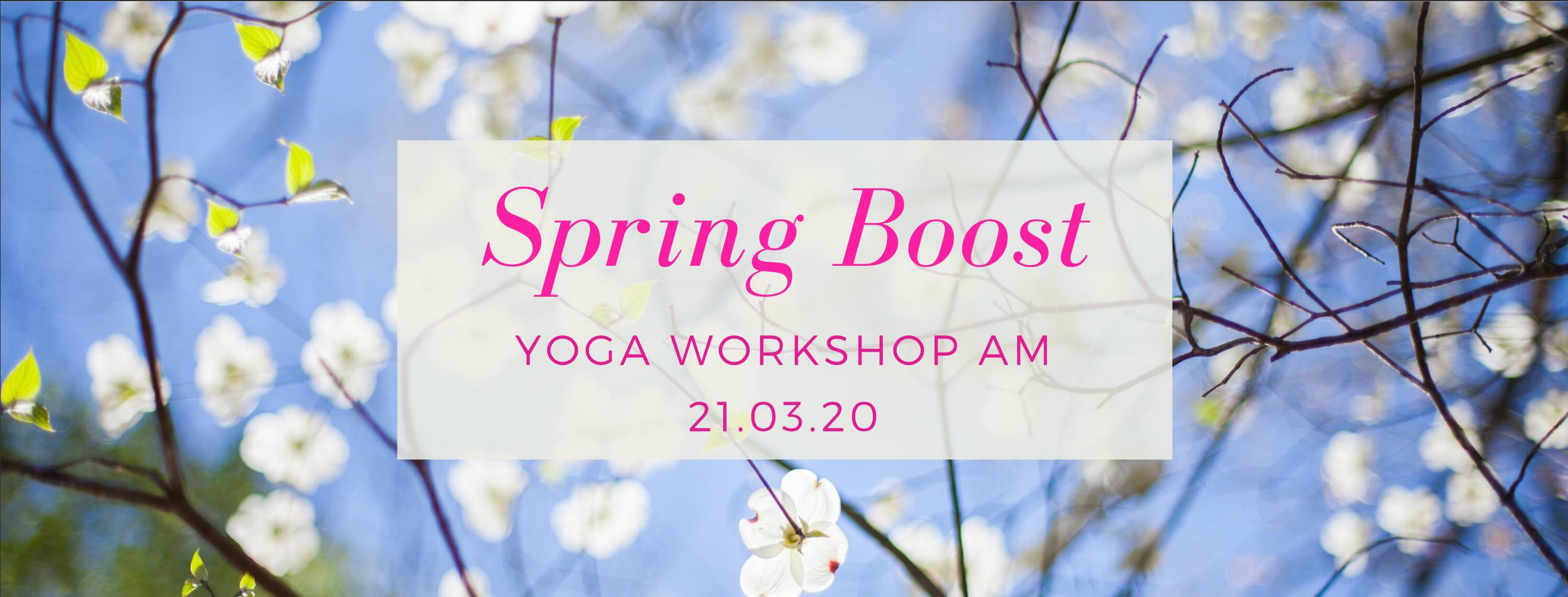 Yoga im Frühling