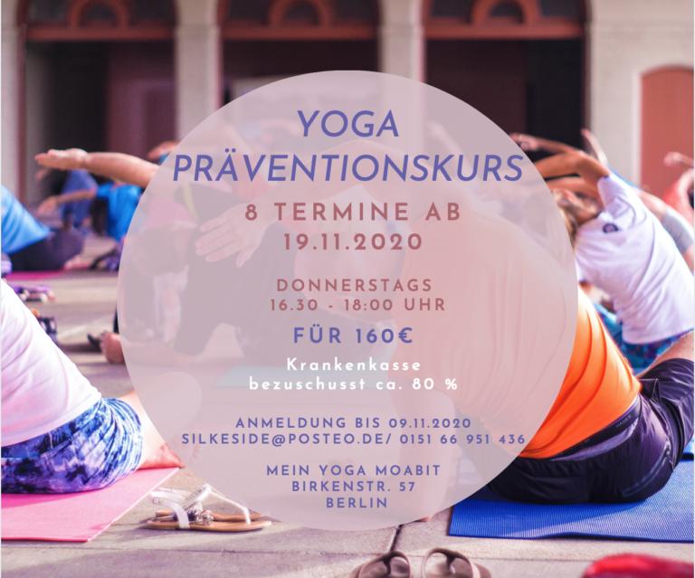Hatha Yoga Gesundheitskurs